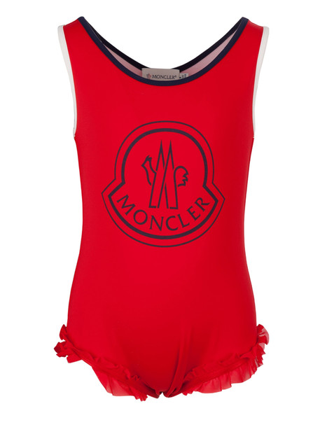 Moncler Kids Swimsuit in red