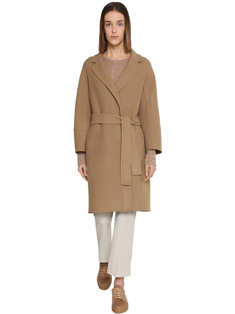 MAX MARA 'S Arona Wool Coat in camel