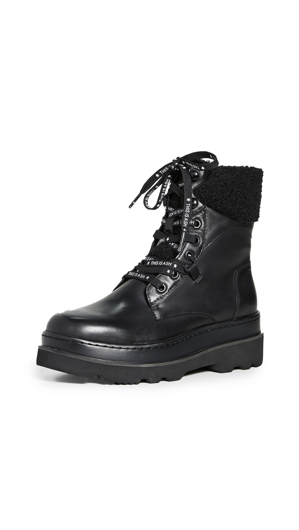 Ash Siberia Boots in black