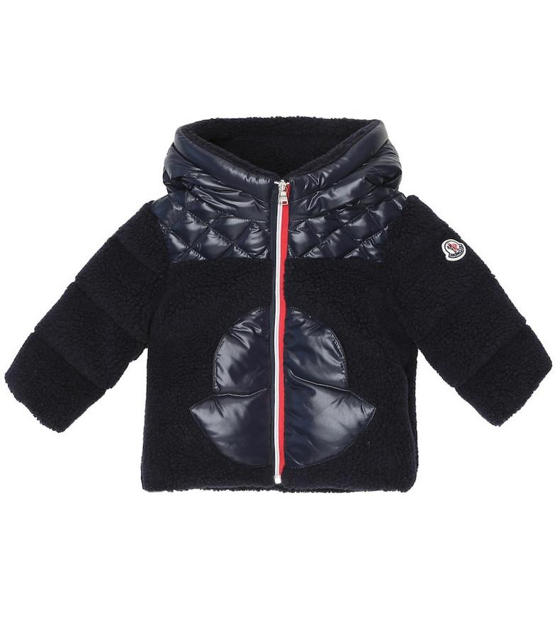 Moncler Enfant Baby down coat in blue