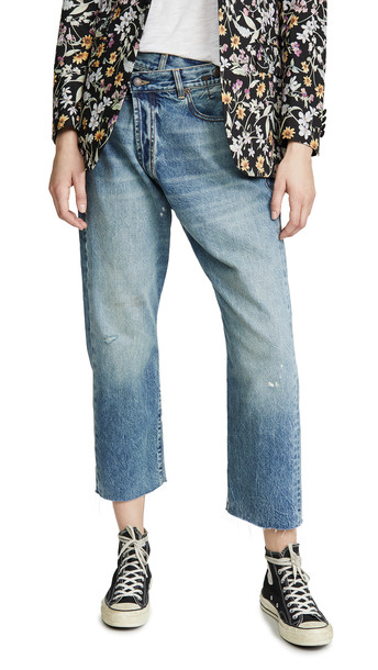 R13 R13 Crossover Jeans in blue