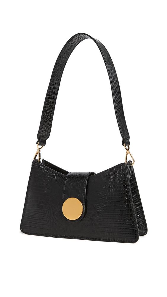 Elleme Embossed Baguette Bag in black