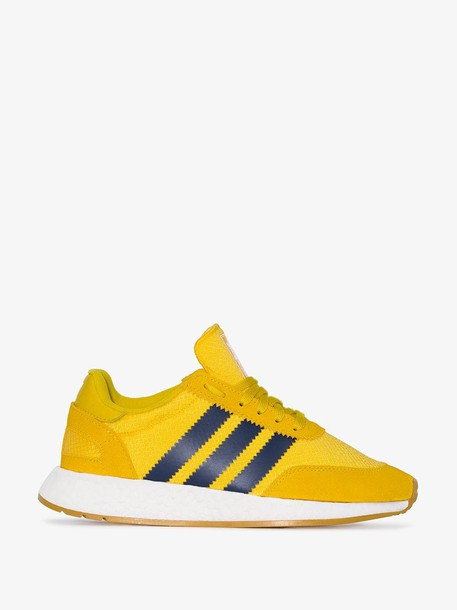 Adidas Yellow I-5923 suede sneakers