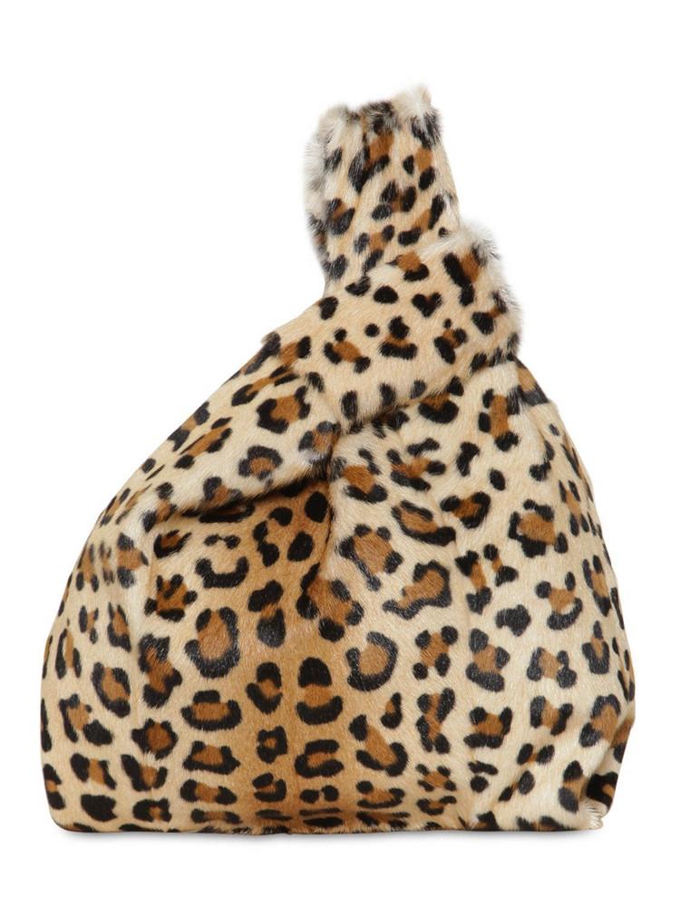 SIMONETTA RAVIZZA Furissima Kid Jaguar Printed Bag