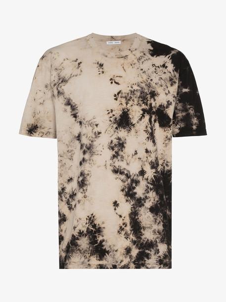 Cmmn Swdn box tie-dye logo print t-shirt