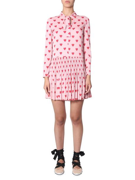 RED Valentino Heart Print Dress