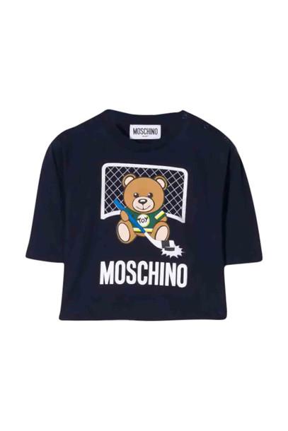 Moschino Cotton T-shirt in navy