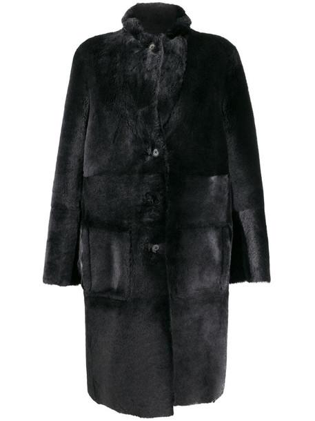 Joseph Britanny coat in black