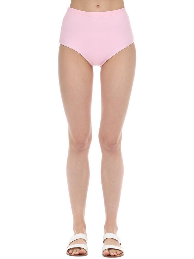 ARABELLA LONDON High Waist Sculpting Bikini Bottoms in pink