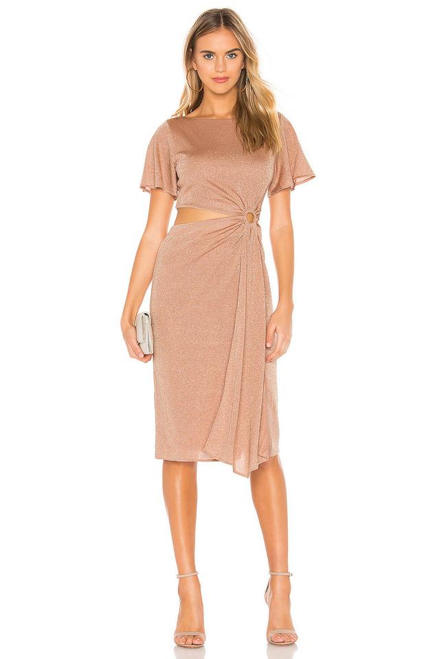 RACHEL ZOE Pauline Dress in pink