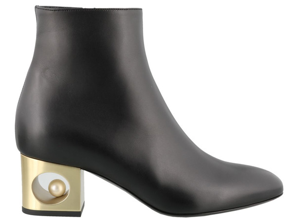 Coliac Penny Ankle Boots in black