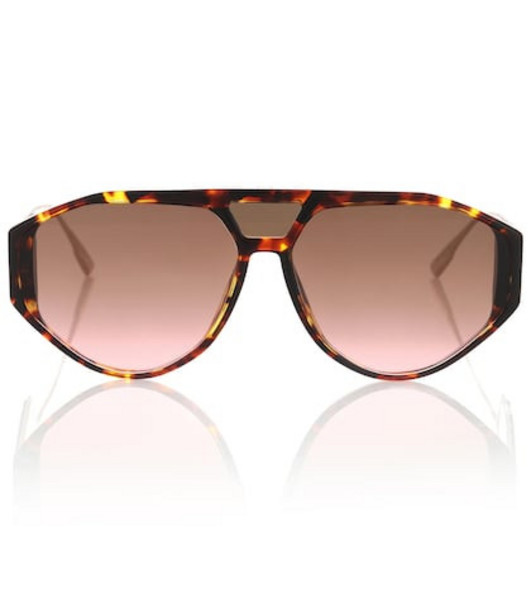 Dior Sunglasses DiorClan1 aviator sunglasses in brown
