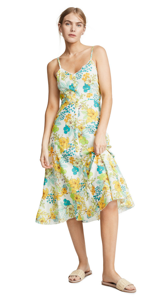 Valencia & Vine Lilly Cami Dress in yellow
