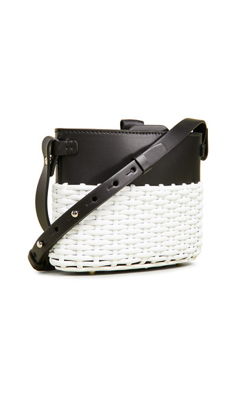 Nico Giani Frerea Mini Bag in black / white