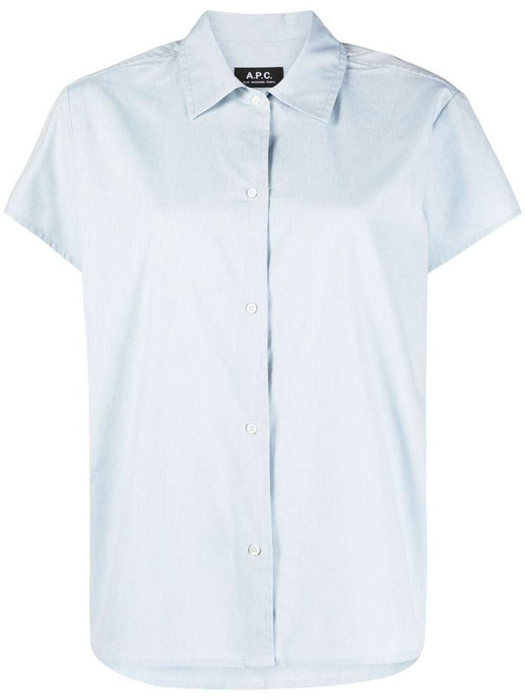 A.P.C. A.P.C. boxy-fit shirt - Blue