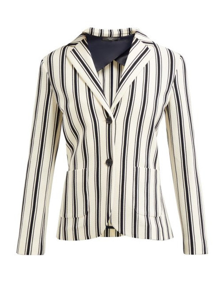 Weekend Max Mara - Perak Jacket - Womens - White Stripe