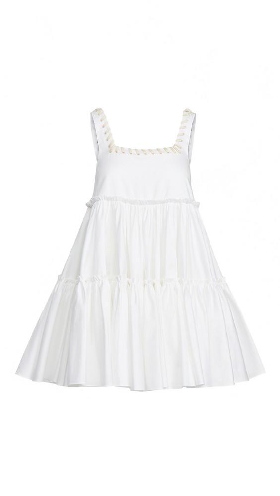 Aje Hushed Mini Dress in white