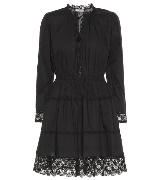 Ulla Johnson Helene cotton-poplin minidress in black