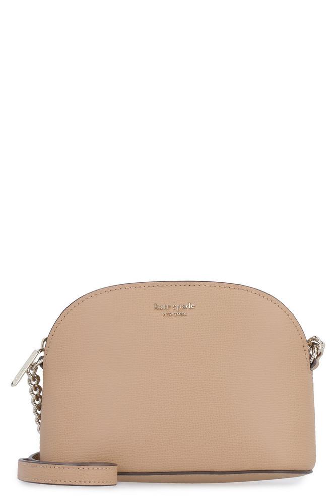 Kate Spade Sylvia Leather Crossbody Bag in camel