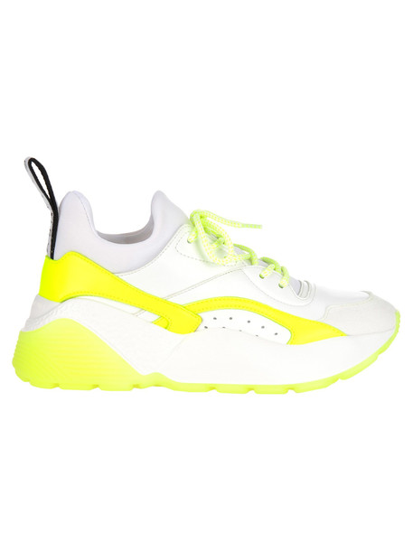 Stella Mccartney Stella Mccartney Eclypse Sneakers in white / yellow