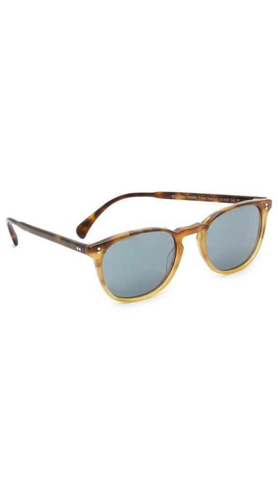 Oliver Peoples Eyewear Finley Esquire Sunglasses in indigo