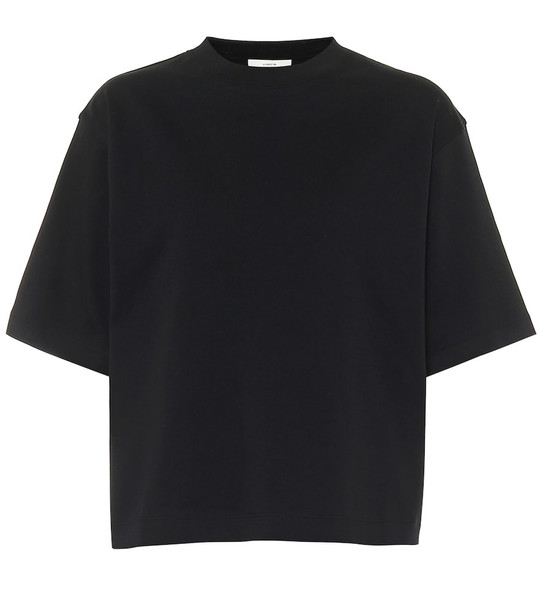 Vince Cotton-jersey T-shirt in black