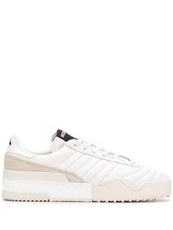 adidas Originals by Alexander Wang AW B-Ball soccer sneakers in white