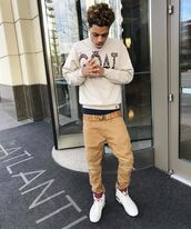 sweater,the goat,swag,crewneck sweater,lucas coly,streetwear