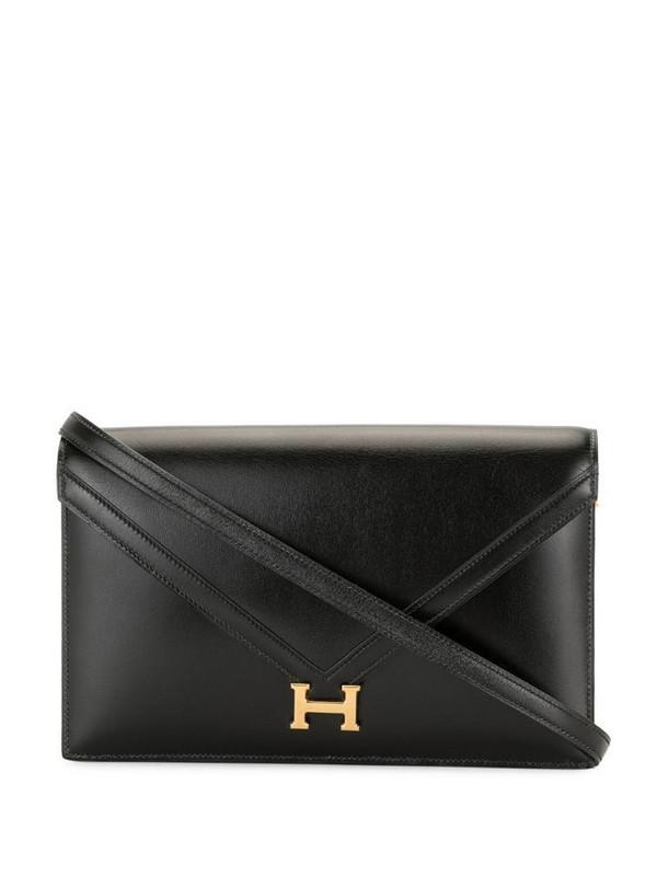 Hermès pre-owned 1985 Lidi shoulder bag in black