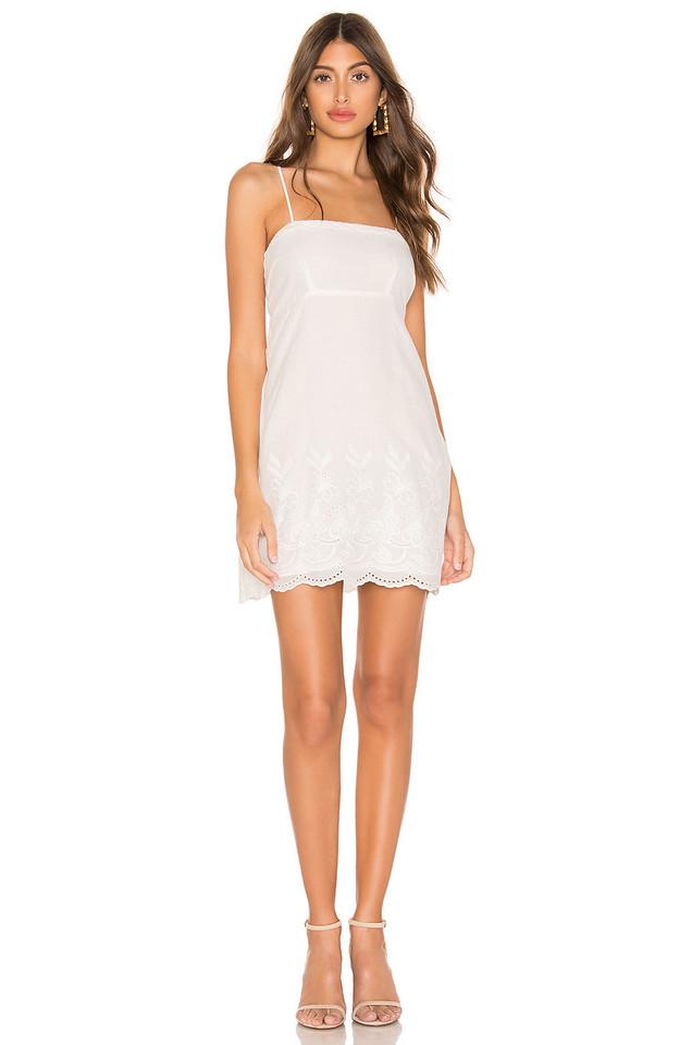 Show Me Your Mumu Esperanza Dress in white