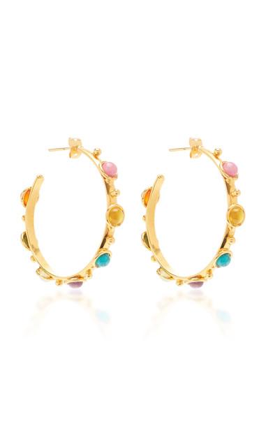 Sylvia Toledano Petite Candy Multi Colored Stone Earrings