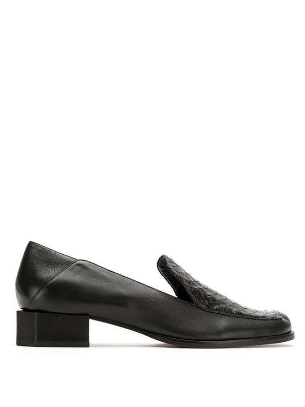 Mara Mac leather brogues in black