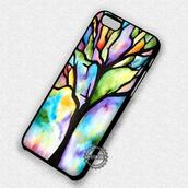 top,tree,painting,watercolor,iphone cover,iphone case,iphone 7 case,iphone 7 plus,iphone 6 case,iphone 6 plus,iphone 6s,iphone 6s plus,iphone 5 case,iphone 5c,iphone 5s,iphone se,iphone 4 case,iphone 4s
