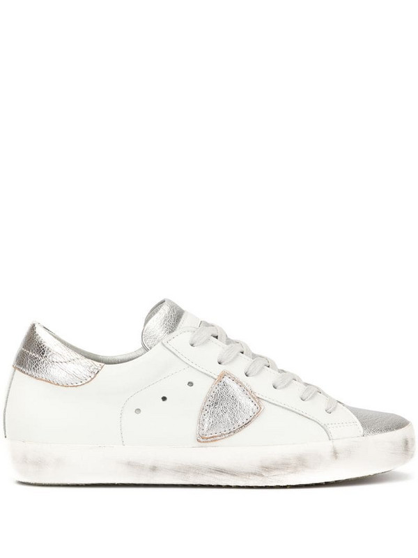 Philippe Model Paris side logo sneakers in white