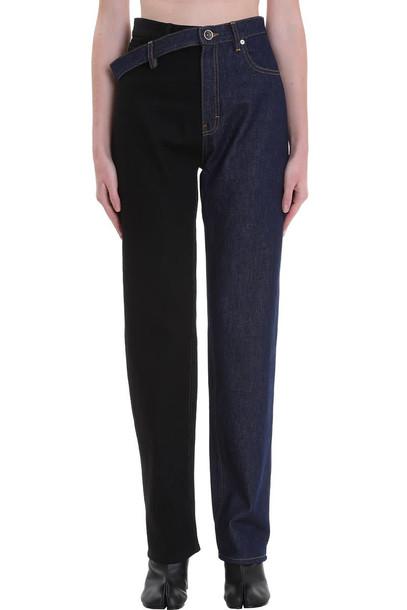 Maison Margiela Jeans In Blue Denim
