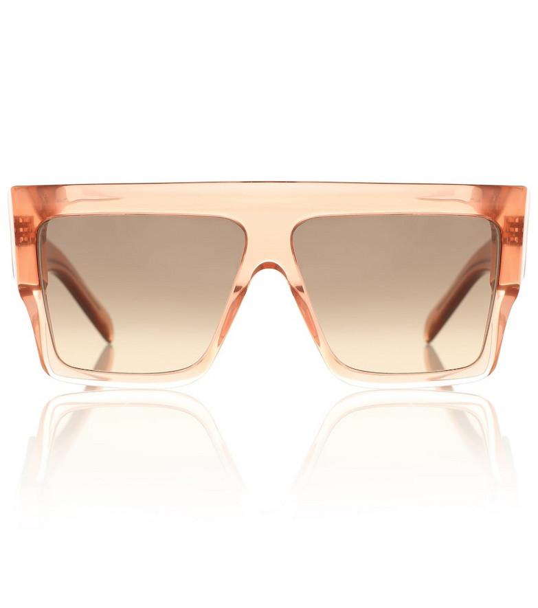 Celine Eyewear Flat-brow sunglasses in pink