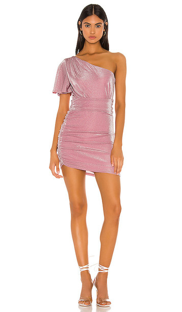 Privacy Please Ryleigh Mini Dress in Pink