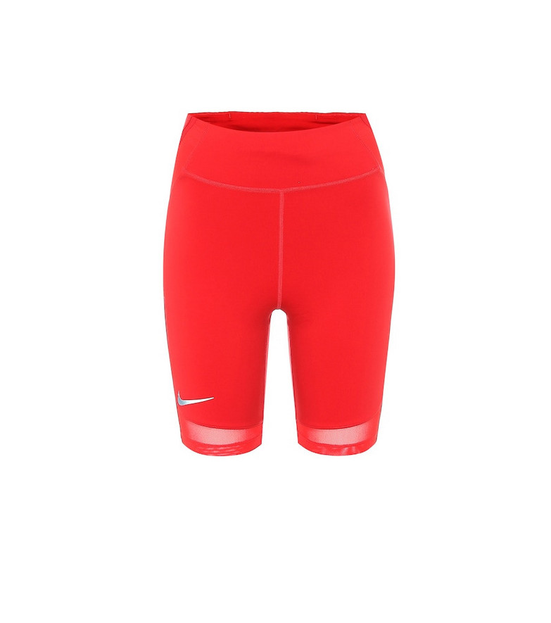 Nike City Ready running shorts in red
