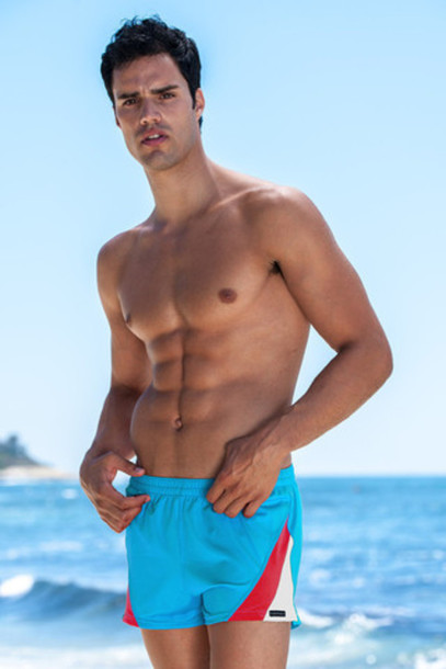 swimwear turquoise mens swimwear mens swim trunks bikiniluxe