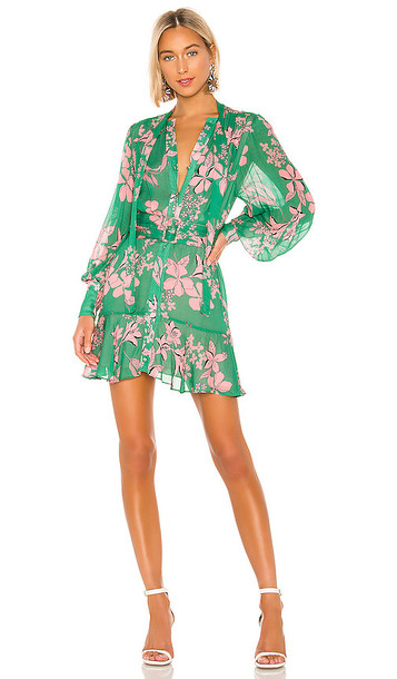 Alexis Tisdale Dress in Green