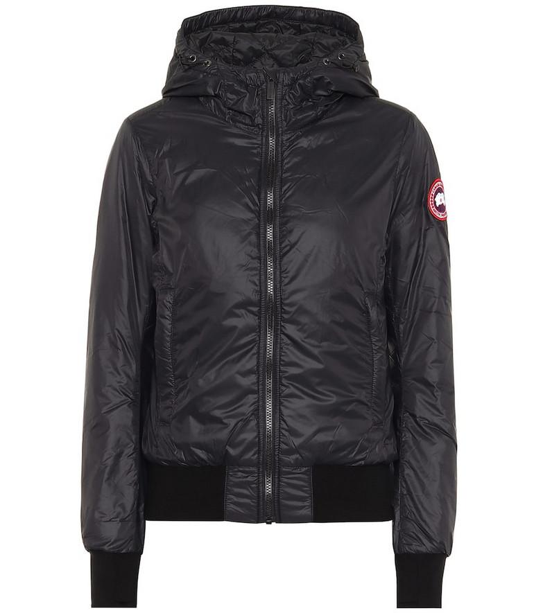 Canada Goose Dore down hoodie in black