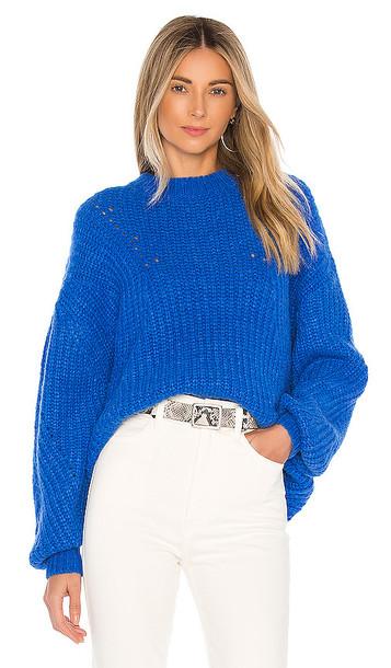 ANINE BING Jolie Sweater in Blue