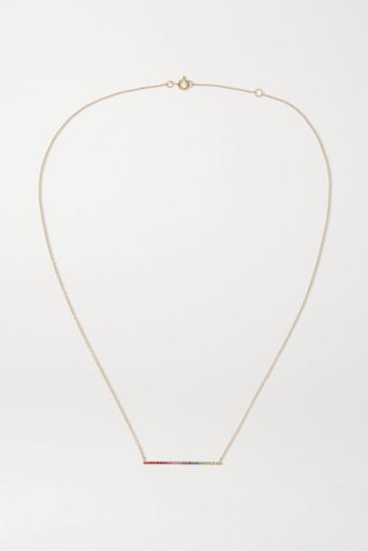 Diane Kordas - 18-karat Rose Gold Multi-stone Necklace