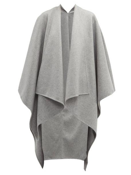 Joseph - Wool Blend Poncho - Womens - Grey