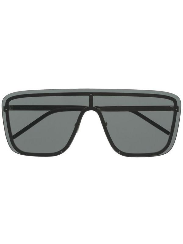 Saint Laurent Eyewear New Wave SL1 Mask sunglasses in black