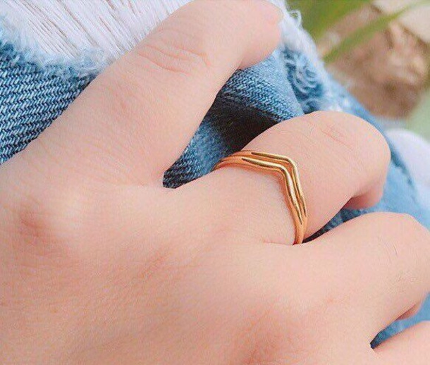 jewels chevron ring wedding ring for her engagement ring jewelry silver ring minimalist jewelry
