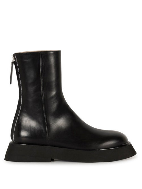 Wandler - Rosa Leather Ankle Boots - Womens - Black