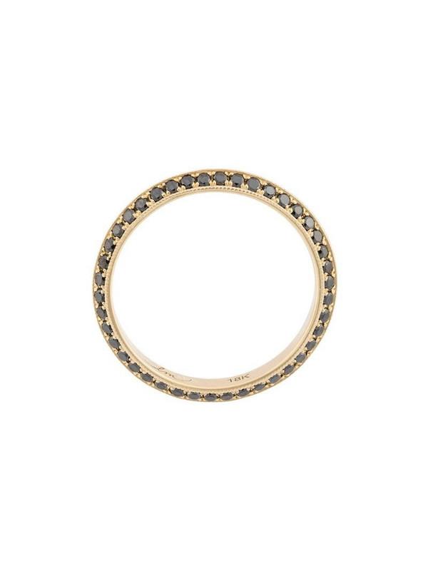Lizzie Mandler Fine Jewelry 'Double-Sided Knife Edge' Ring in metallic