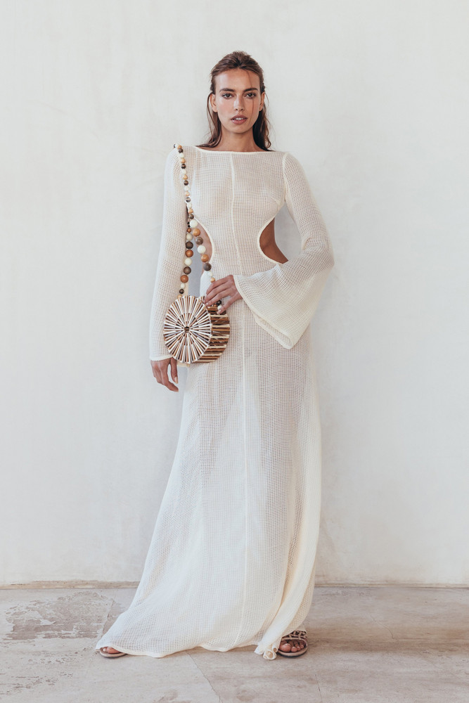 Cult Gaia Kamira Dress - Natural                                                                                               $898.00 USD