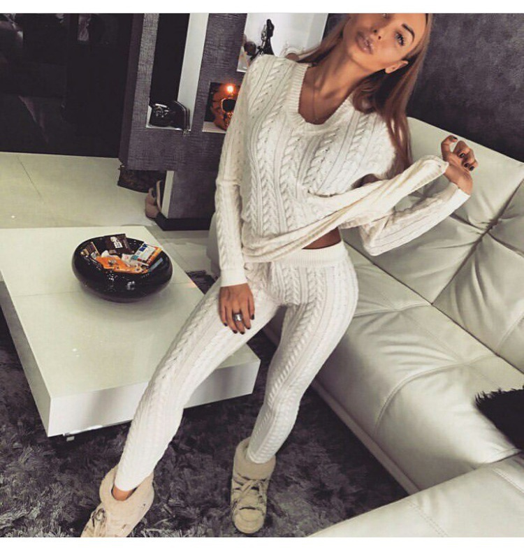 pants blouse leggings sweater white